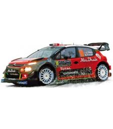 Citroen C3 WRC N°10 - Rallye de Monte Carlo 2018 – K.Meeke / P.Nagle