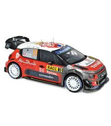 Citroen C3 WRC N°10 - Rally De Espana 2018 - S.Loeb / D.Elena