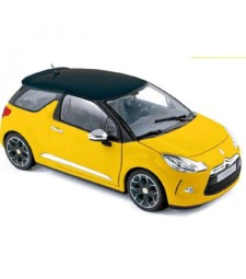 Citroеn DS3 2010 - Pegase Yellow with Black Roof
