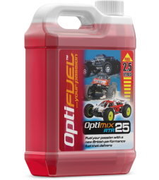 OptiFuel Optimix RTR 25% Nitro Car Fue, 2.5 L