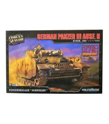 1:72 GERMAN PANZER III AUSF. N MODEL KITS NORWAY MAY 1945