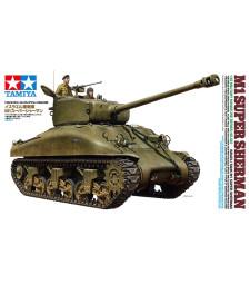 1:35 Israeli Tank M1 Super Sherman - 2 figures