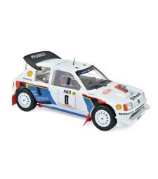 Peugeot 205 T16 - Rallye Monte-Carlo 1986 - Bruno Saby/J.F. Fauchille