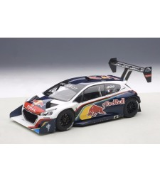 PEUGEOT 208 T16 PIKES PEAKWINNER 2013 RED BULL LOEB #208(COMPOSITE MODEL/2 DOOR OPENINGS)