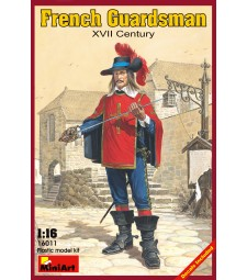 1:16 French Guardsman XVII c.