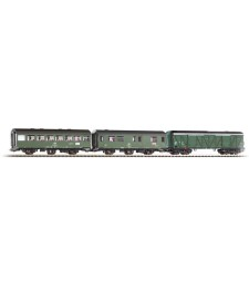 Set of 3 wagons  B3ge 2nd Cl. DR IV