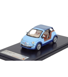 "Fiat 500 Tender Two ""Castagna Milano"" 2008 - Light Blue"