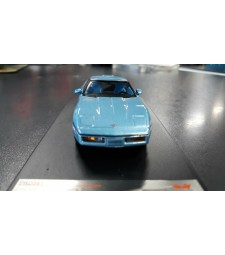 Chevrolet Corvette (C4), metallic-light blue - DAMAGED