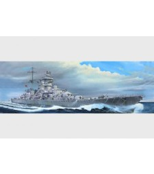 1:350 German cruiser Prinz Eugen 1945