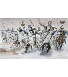 1:72 TEUTONIC KNIGHTS - 34 figures