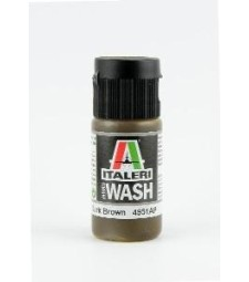 ITALERI Model Wash: DARK BROWN (20 ml)