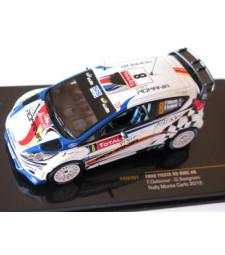Ford Fiesta RS WRC - 2012 Rally Monte Carlo - #8 F. Delecour