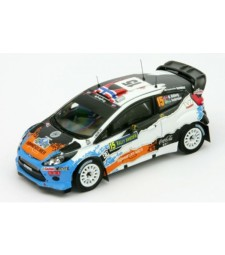 FORD FIESTA RS WRC #15 M.OSTBERG-J.ANDERSSON 3rd Rally SWEDEN 2012
