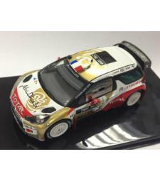 CITROEN DS3 WRC (CITROEN Abu Dhabi World Rally Team Presentation) 2013