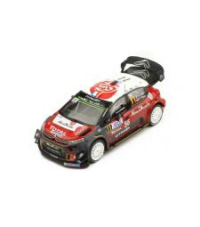 Citroen C3 WRC, No.11, Rallye WM, Rallye tour de Corse, S.Loeb/D.Elena, 2018