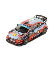 Hyundai i20 WRC, No.11, WRC, Rallye Monte Carlo, T.Neuville/N.Gilsoul, 2019