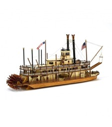 1:80 Renewed King of the Mississippi Steamboat
