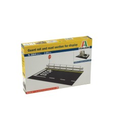 1:24 Guard Rail & Road Section for display