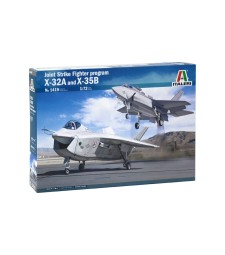1:72 JSF PROJECT:  X-32 and X-35B