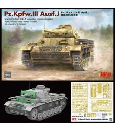 1:35 Pz.Kpfw. III Ausf. J w/workable track links