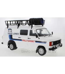 Ford Transit MK II, David Jones with Roof accessories