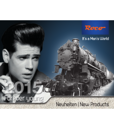Roco Model Railway Catalogues 2015