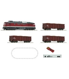 Digital z21 start set: Diesel locomotive class 132 and goods train, DR, epoch IV
