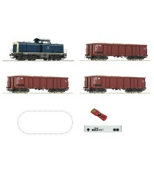 Digital z21® start Set: Diesel locomotive class 211 with freight train, DB, epoch IV