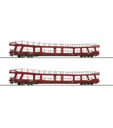 2 piece set Stand-in deck coach carrier, ÖBB, epoch VI