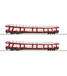 2 piece set Stand-in deck coach carrier, ÖBB, epoch VI