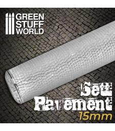 Sett Pavement Rolling pin 15mm