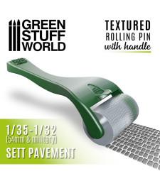 Rollin pin with Handle - Sett Pavement