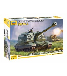 1:72 MSTA-S SELF-PROPELLED HOWITZER