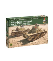 1:56 ITALIAN TANKS & TANK DESTROYERS
