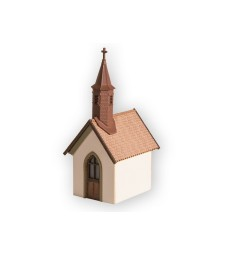 Village Chapel (2.3 cm x 2 cm, 4.5 cm high)