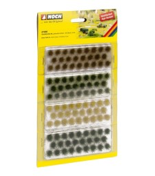 Grass Tufts XL muted colours, (104 pieces, 9 mm)