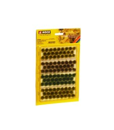 Grass Tufts XL beige-green, dark green, brown (104 pieces, 9 mm)