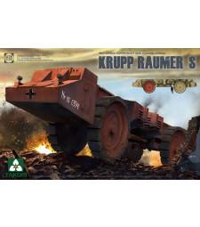 1:35 WWII German Super Heavy Mine Clearing Vehicle Krupp Raumer S