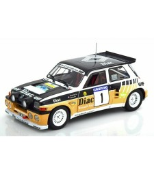 RENAULT 5 MAXI - RALLY DU VAR 1986 - F.CHATRIOT Nb1