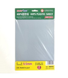HIPS 0,5MM PLASTIC SHEET