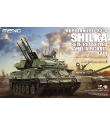 1:35 Russian ZSU-23-4 Shilka Self-Propelled Anti-Aircraft Gun