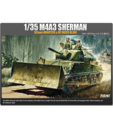 1:35 M4A3 105 mm SHERMAN/DOZER BLADE
