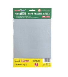 HIPS 0,3MM PLASTIC SHEET