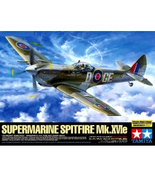 1:32 British IIWW fighter Supermarine Spitfire Mk.XVIe - 1 figure