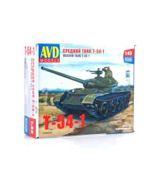 Tank T54-1 - Die-cast Model Kit