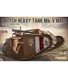 1:35 BRITISH HEAVY TANK Mk.V MALE