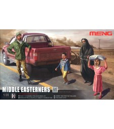 1:35 Middle Easterners in The Street - 3 figures