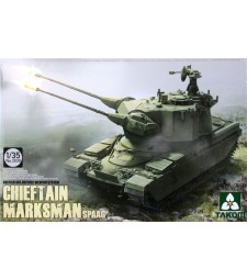 1:35 British Air-defense Weapon System Chieftain Marksman SPAAG