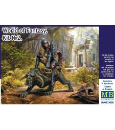 1:24 World of Fantasy. Graggeron & Halseya Kit No. 2 - 2 figures
