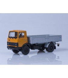 MAZ-5337 Flatbed Truck Early Version - yellow-grey
